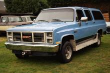 GMC Suburban Sierra Classic with Barn Doors 4x4